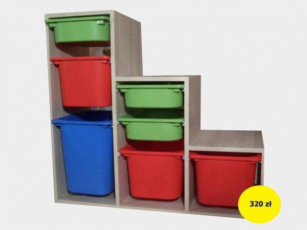 Ogłoszenia Białystok Online Regał Na Zabawki Z Pudłami Ikea