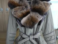 Bordowa zimowa kurtka damska Maria Bland Z 017