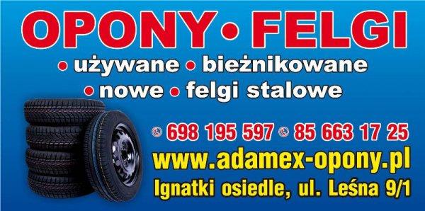 Ogłoszenia Białystok Online Opony Zimowefelgi Stalowekoła Zimowe