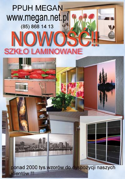 Ogłoszenia Białystok Online Panele Szklane Szkło Laminowane