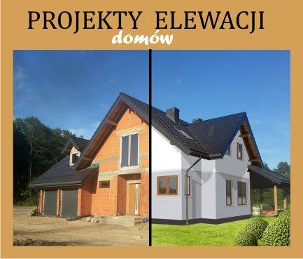 Ogłoszenia Białystok Online Projekt Elewacji Domu Budynku