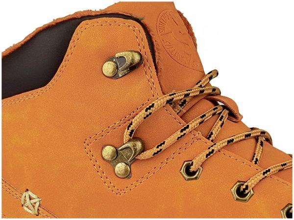 smiths buty zimowe męskie trapery miodowe